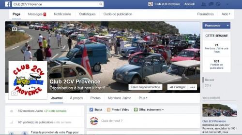 Facebook - club 2cv